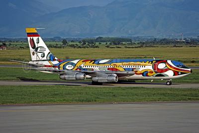 Ecuatoriana (Empresa Ecuatoriana de Aviacion) Boeing 720-023B HC-AZQ (msn 18037) BOG (Rob Rindt Collection). Image: 952507.