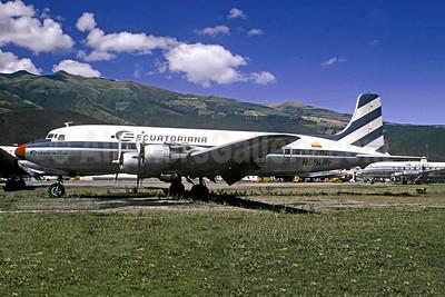 Ecuatoriana (Empresa Ecuatoriana de Aviacion) Douglas DC-6 HC-AMF (msn 43037) UIO (Christian Volpati). Image: 954194.