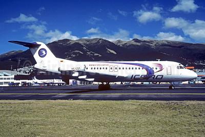 ICARO AIr Fokker F.28 Mk. 4000 HC-CDT (msn 11222) UIO (Christian Volpati). Image: 951617.