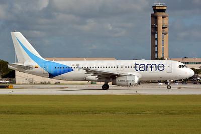 TAME Airbus A320-232 HC-COE (msn 1339) FLL (Jay Selman). Image: 402718.