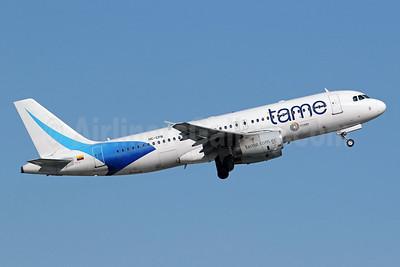 TAME Airbus A320-233 HC-CPB (msn 1500) (Ecuador) FLL (Brian McDonough). Image: 949632.