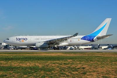 TAME Airbus A330-243 HC-COH (msn 348) JFK (Ken Petersen). Image: 925174.