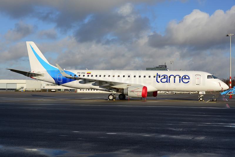TAME (Denim Air) Embraer ERJ 190-100 IGW PH-DNA (HC-COX) (msn 19000372) AMS (Ton Jochems). Image: 921689.