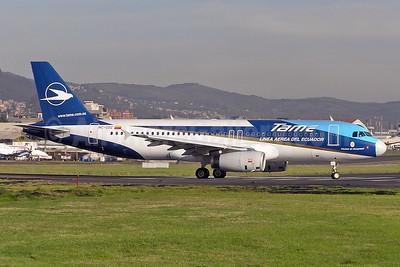 TAME Airbus A320-233 HC-CDZ (msn 2044) UIO (Sandro Rota). Image: 930075.