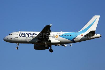 TAME Airbus A319-132 HC-CGT (msn 2659) GRU (Rob Finlayson). Image: 924385.