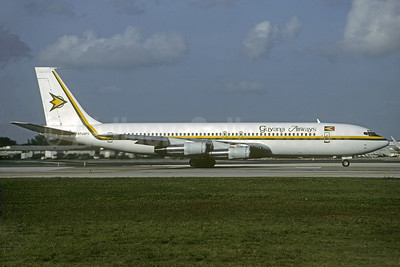 Guyana Airways Boeing 707-323B N709PC (msn 20175) MIA (Christian Volpati Collection). Image: 932218.