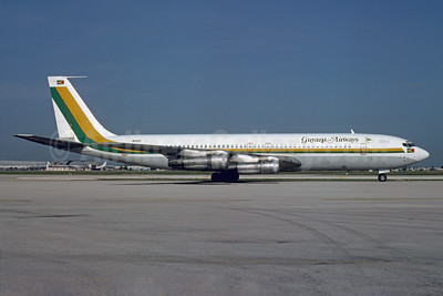 Guyana Airways Boeing 707-321B N1181Z (msn 19693) MIA (Bruce Drum). Image: 103913.