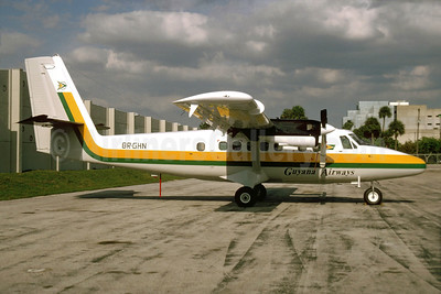 Guyana Airways de Havilland Canada DHC-6-300 Twin Otter 8R-GHN (msn 723) MIA (Bruce Drum). Image: 103915.