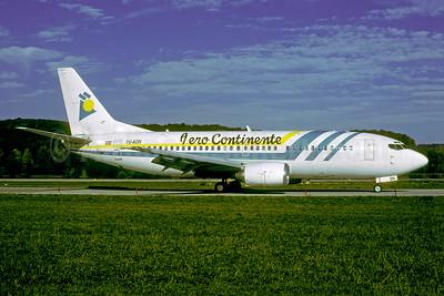 Aero Continente (Peru) (JAT) Boeing 737-3Q4 YU-AON (msn 24208) ZRH (Rolf Wallner). Image: 947264.