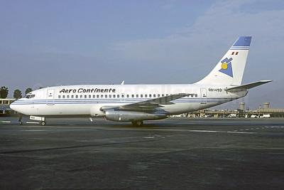 Aero Continente (Peru) Boeing 737-204 OB1493 (msn 19712) (America West colors) LIM (Christian Volpati). Image: 920018.
