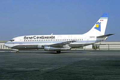Aero Continente (Peru) Boeing 737-222 OB1561 (msn 19059) (America West colors) LIM (Christian Volpati). Image: 949332.