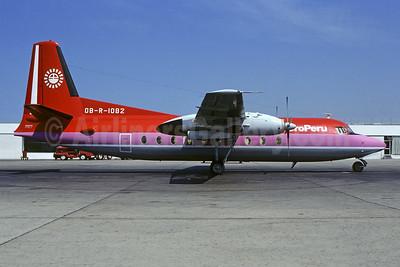 AeroPeru (1st) Fokker F.27 Mk. 600 OB-R-1082 (msn 10514) LIM (Christian Volpati). Image: 953102.