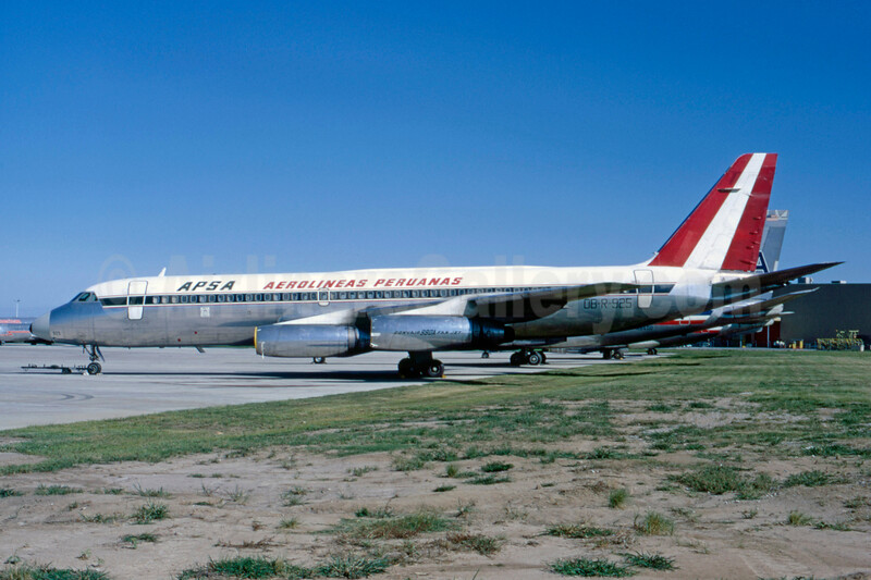 Aerolineas Peruanas-APSA Convair 990-30A-5 OB-R-925 (msn 24) TUL (Ted J. Gibson - Bruce Drum Collection). Image: 925692.