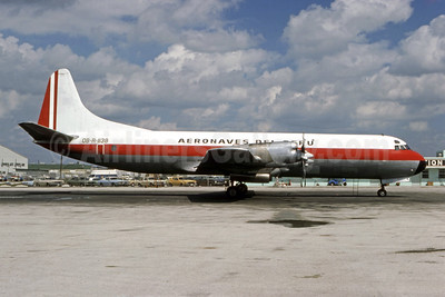 Aeronaves del Peru Lockheed 188A (F) Electra OB-R-1138 (msn 1128) MIA (Bruce Drum). Image: 105032.
