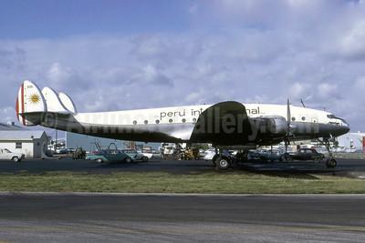 Peru International S.A. (COPISA) Lockheed 749A-79-46 Constellation OB-R-898 (msn 2627) MIA (Bruce Drum). Image: 105540.
