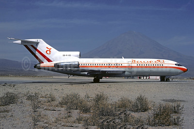 Faucett Peru Boeing 727-51C OB-R-1115 (msn 18897) AQP (Christian Volpati). Image: 945917.