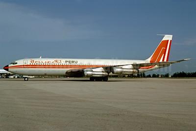 Faucett Peru Boeing 707-321B N1181Z (msn 19693) MIA (Bruce Drum). Image: 102703.
