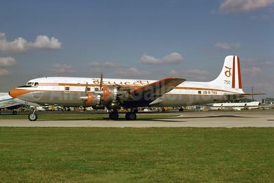 Faucett Peru Douglas DC-6B (F) OB-R-750 (msn 45505) MIA (Bruce Drum). Image: 102700.