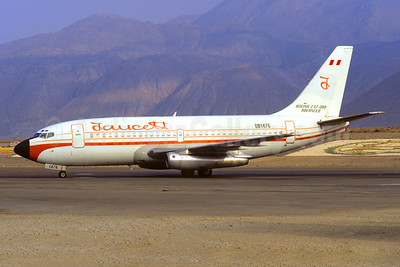 Faucett Peru Boeing 737-212 OB1476 (msn 20492) AQP (Christian Volpati Collection). Image: 945918.