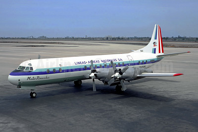"""""""Mateo Pumacahua"""", operated flight 508 on December 24, 1971, Lima to Pucallpa, Peru, hit turbulence, disintegrated due to structural failure due a lightning strike and fire. 92 people on board, one survived."""
