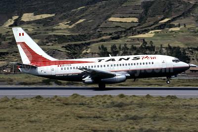 TANS Peru Boeing 737-282 OB-1724 (msn 23042) CUZ (Jacques Guillem Collection). Image: 946460.