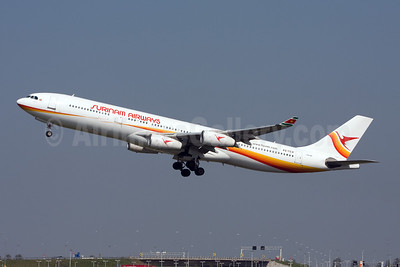 Surinam Airways Airbus A340-311 F-GLZG (PZ-TCP) (msn 049) AMS (Michael Stappen). Image: 907170.