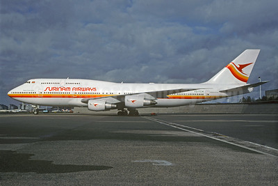 Surinam Airways Boeing 747-306 PZ-TCM (msn 23508) AMS (Christian Volpati Collection). Image: 927283.