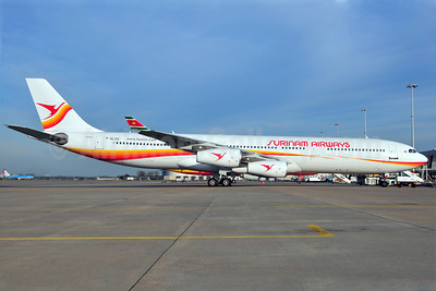 Surinam Airways Airbus A340-311 F-GLZG (PZ-TCP) (msn 049) AMS (Ton Jochems). Image: 904190.