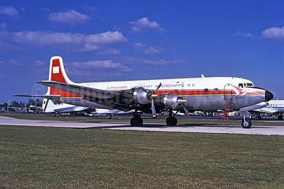 Surinaamse Luchtvaart Maatschappij N.V.-SLM Douglas DC-6A PJ-CLG (msn 44259) MIA (Bruce Drum). Image: 102421.