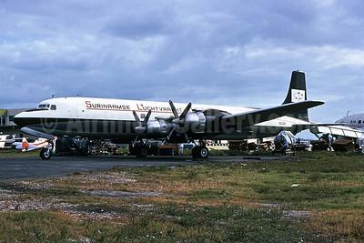 Surinaamse Luchtvaart Maatschappij N.V.-SLM Douglas DC-7C (F) N531K (msn 45470) MIA (Bruce Drum). Image: 102422.