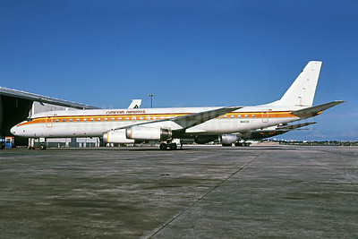 Surinam Airways (Arrow Air 2nd) McDonnell Douglas DC-8-62 N1806 (msn 45911) MIA (Bruce Drum). Image: 102423.