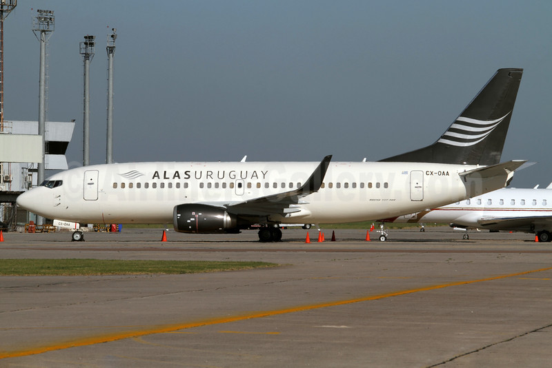 Alas Uruguay starts passenger operations on January 21, 2016 between Montevideo and Asuncion