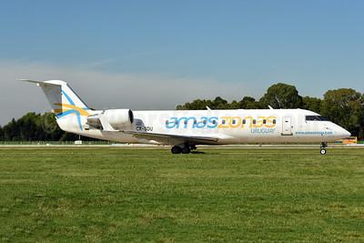 Amaszonas Uruguay Bombardier CRJ200 (CL-600-2B19) CX-SDU (msn 7209) AEP (Ken Petersen). Image: 948449.