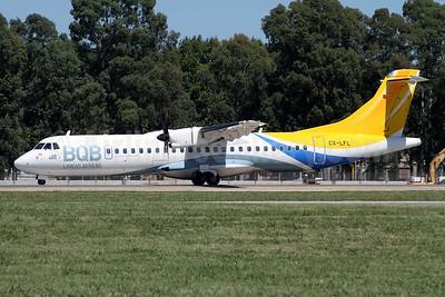 BQB Lineas Aereas ATR 72-212A (ATR 72-500) CX-LFL (msn 570) AEP (Alvaro Romero). Image: 923454.