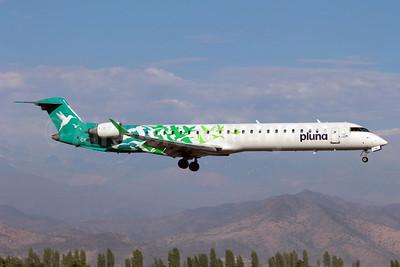 Pluna Lineas Aereas Uruguayas Bombardier CRJ900 (CL-600-2D24) CX-CRB (msn 15169) SCL (Alvaro Romero). Image: 905861.