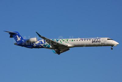 Pluna Lineas Aereas Uruguayas Bombardier CRJ900 (CL-600-2D24) CX-CRA (msn 15165) (Assist-Card) GRU (Marcelo F. De Biasi). Image: 906374.