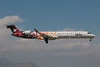 Pluna Lineas Aereas Uruguayas Bombardier CRJ900 (CL-600-2D24) CX-CRE (msn 15185) (Visite Belo Horizonte) SCL (Alvaro Romero). Image: 906053.