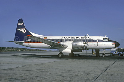 AVENSA Convair 580 YV-86C (msn 214) CCS (Christian Volpati Collection). Image: 920200.
