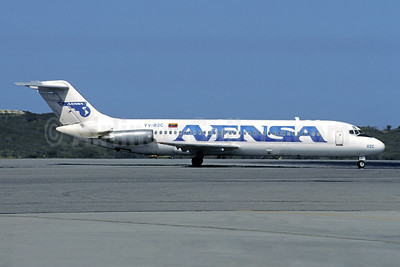 AVENSA McDonnell Douglas DC-9-31 YV-82C (msn 47121) CCS (Christian Volpati). Image: 942861.