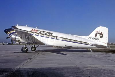 AeroEjecutivos Douglas DC-3C YV-475CP (msn 43085) OPF (Bruce Drum). Image: 105516.