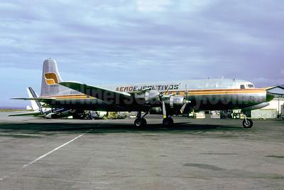 AeroEjecutivos Douglas DC-6A YV-501C (msn 44645) (Aerovias colors) CCS (Rolf Wallner). Image: 952623.