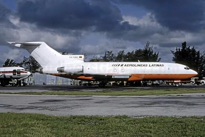 Aerolineas Argentinas Boeing 727-25 (F) YV-728C (msn 18270) MIA (Bruce Drum). Image: 105278.