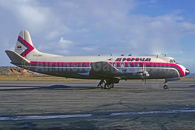 Aeropostal (Venezuela) Vickers Viscount 702 YV-C-AMT (msn 81) CCS (Christian Volpati). Image: 934054.