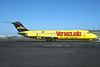 Special promotional Venezuela logo jet