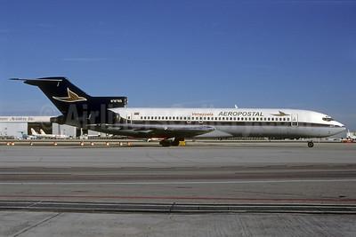 Aeropostal (Venezuela) (Falcon Air Express) Boeing 727-224 N79750 (msn 22452) MIA (Bruce Drum). Image: 103554.