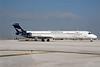 Aeropostal (Venezuela) (Ryan International) McDonnell Douglas DC-9-82 (MD-82) N932RD (msn 49233) (Ryan colors) MIA (Bruce Drum). Image: 100481.