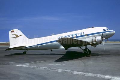 Aeropostal (Venezuela) Douglas C-47-DL (DC-3) YV-C-AMG (msn 4458) CCS (Christian Volpati). Image: 901963.