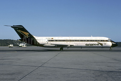 Aserca Airlines McDonnell Douglas DC-9-31 YV-709C (msn 47005) (Jet Train colors) CCS (Christian Volpati). Image: 920179.