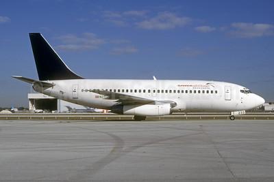 Aserca Airlines Boeing 737-2K5 N233TA (msn 22601) MIA (Bruce Drum). Image: 103651.