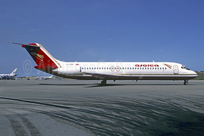 Aserca Airlines McDonnell Douglas DC-9-31 YV-720C (msn 45837) (Midway colors) CCS (Christian Volpati). Image: 920470.